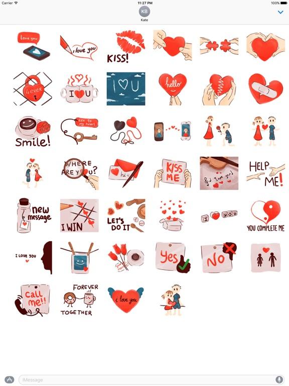 Love Messages Lovemoji Sticker screenshot 4