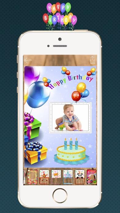 Erstellen Geburtstag RahmenScreenshot von 2