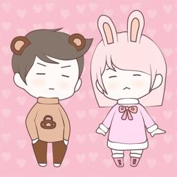 Bunny & Bear Stickers