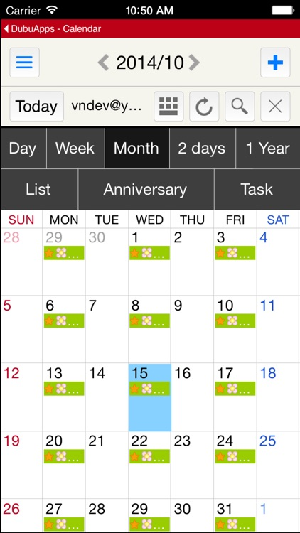 DubuCalendar screenshot-1