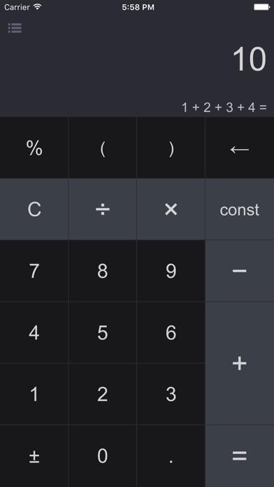 Screenshot #6 for CalcBox Pro - Smart Calculator