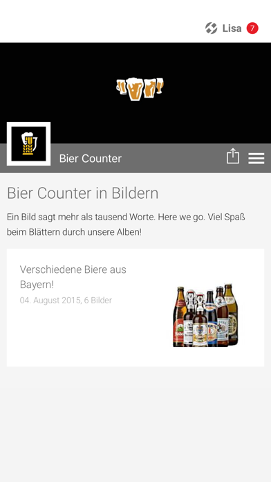 点击获取Bier Counter