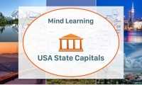 MindLearning - USA State Capitals