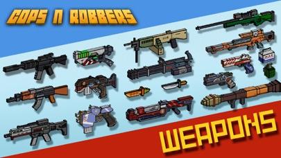 ピクセル シューティング: Cops N Robbersのスクリーンショット1