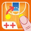 コーチのタクティカルボード-バスケットボール++