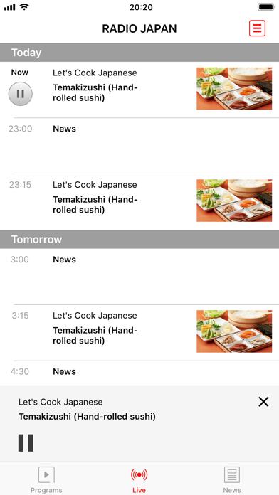 NHK WORLD RADIO JAPAN ScreenShot0