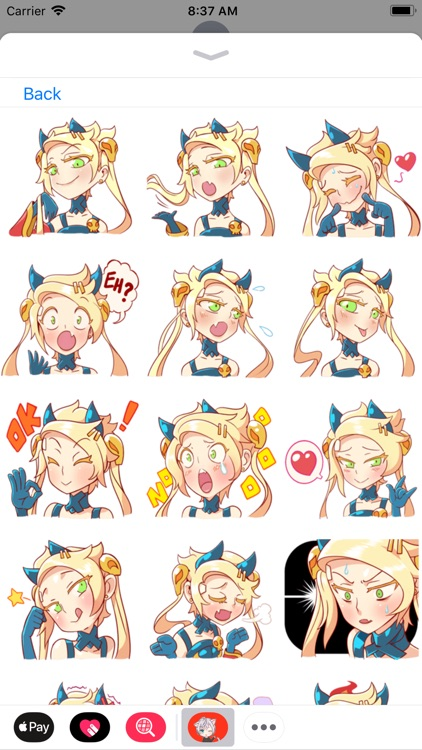 Anime Stickers Collection screenshot-4