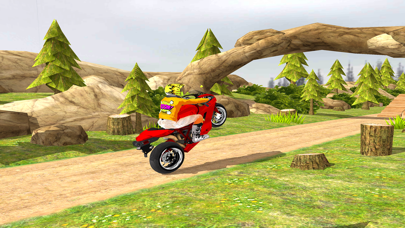 Offroad Stunt Bike rider 2018 screenshot three