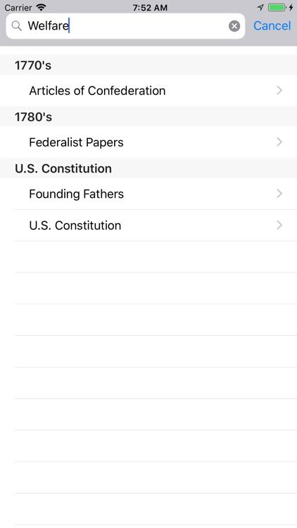 Patriot App (US Constitution) screenshot-3