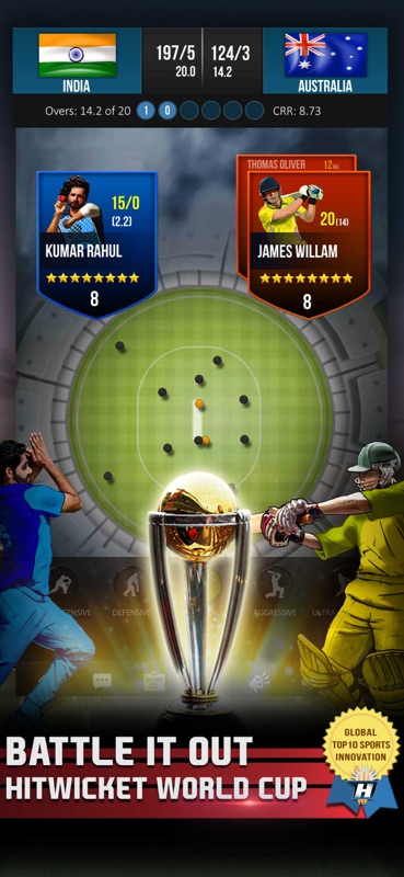 Hitwicket Cricket Game 2018 - Online Game Hack and Cheat