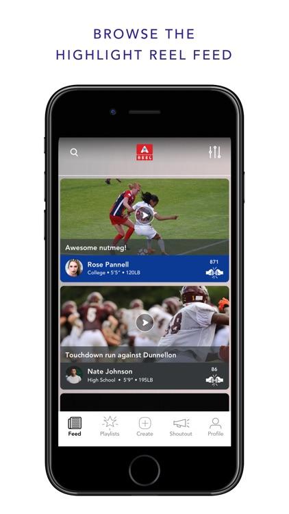 A•REEL Sports Highlights screenshot-0
