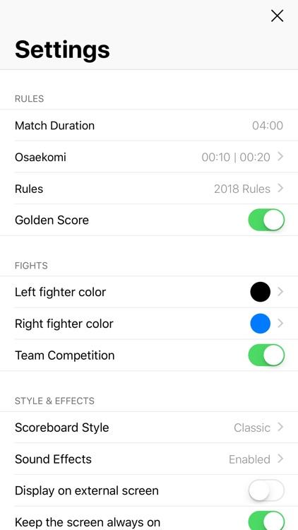 Judo Shiai screenshot-4
