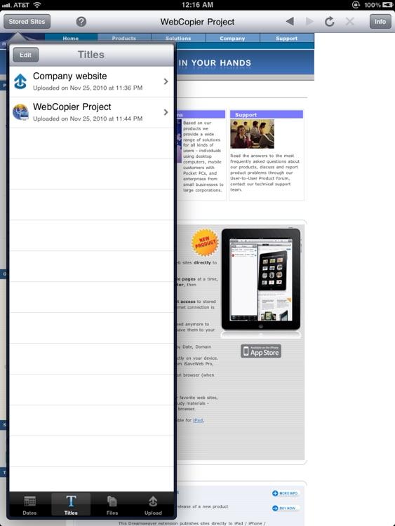 Sites-2-Go HD screenshot-3