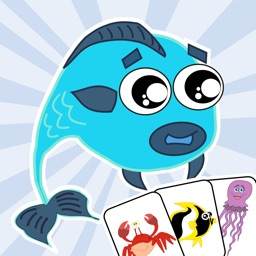 Sea Animals Matching Game Educational App for Kids