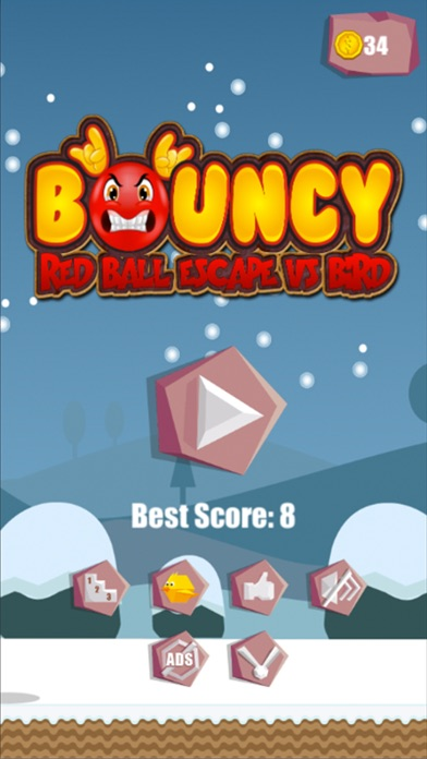 Bouncy Red Ball Game-0