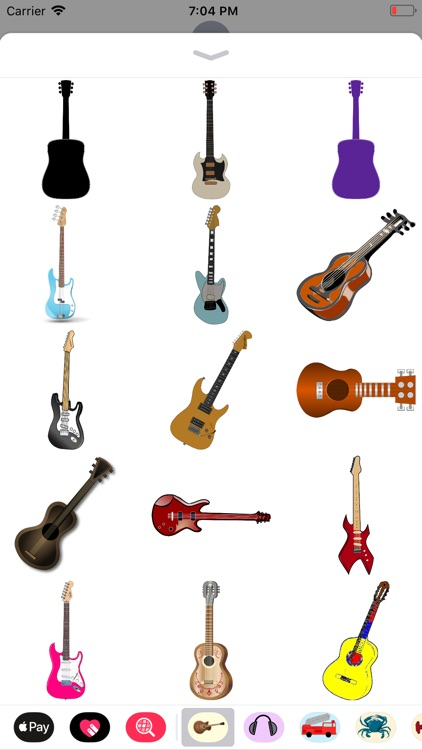 Groovy Guitar Stickers screenshot-8