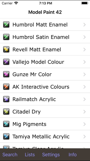 Model Paint 42 On The App Store