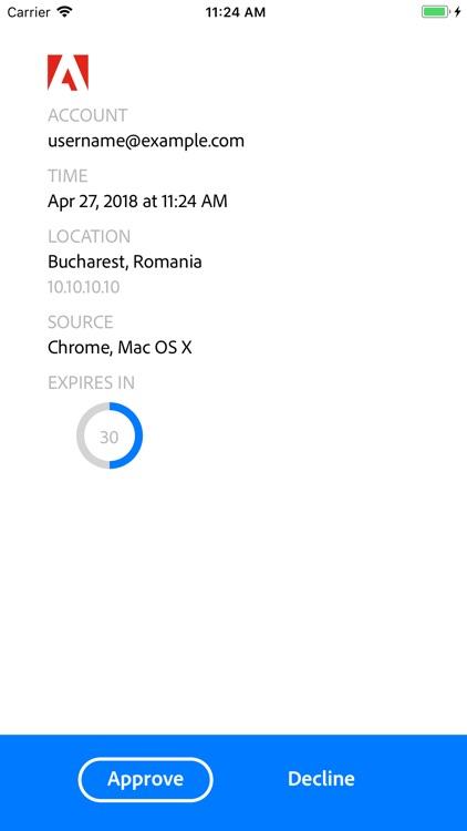 Adobe Authenticator screenshot-5