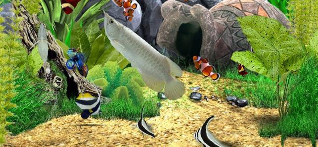 Аквамир 3d аквариум скачать игру бесплатно