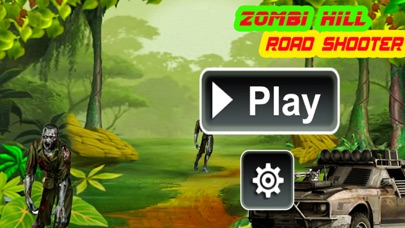 Zombie Hill Road Shooter screenshot one