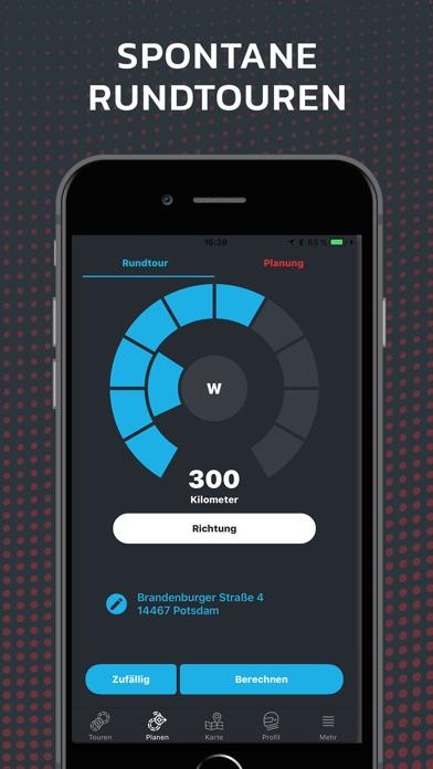 calimoto motorrad navigation app bewertung navigation