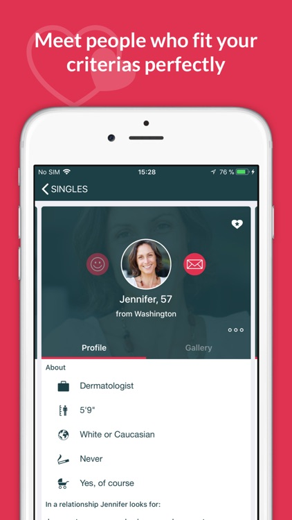 SilverSingles: 50+ Dating App screenshot-3