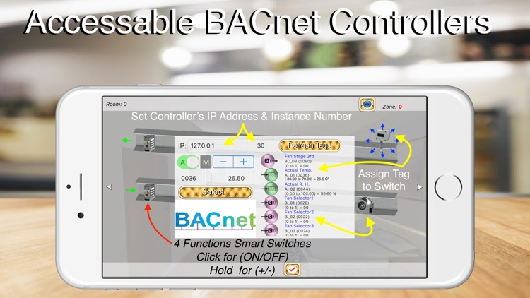 HOS Smart Home BACnet BMS screenshot-5