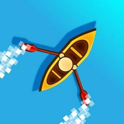 Kayak King: Dodge the Rapids