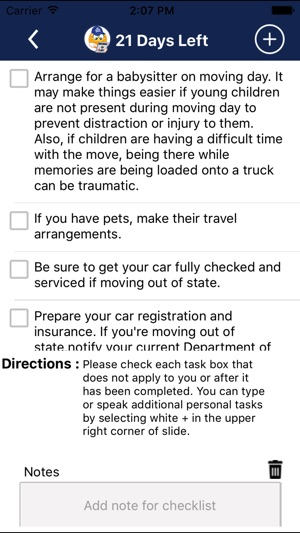 Moving App Moving Checklist On The App Store