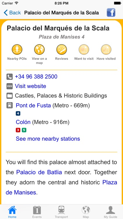 Valencia Travel Guide Offline screenshot-4
