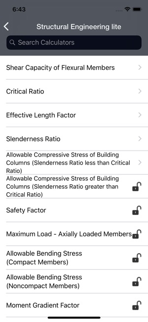 Structural Engineering lite on the App Store