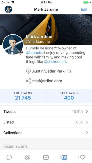 Screenshot for Tweetbot 5 for Twitter in United States App Store