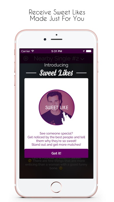 Sweet Dates: Romance & LTRs Screenshot on iOS