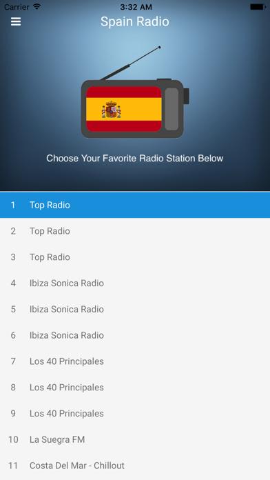 点击获取Spain Radio Station Spanish FM