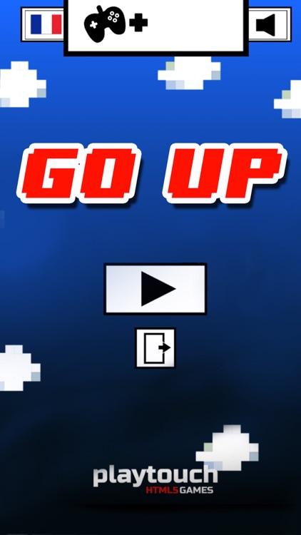 GO UP / climb or jump to go up