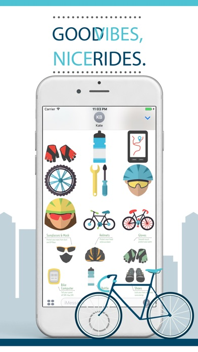 We Love Cycling Stickers App Price Drops