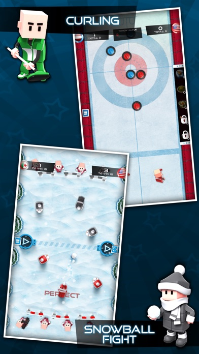 Screenshot #8 for Flick Champions Winter Sports