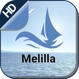 Boating Melilla Nautical Chart