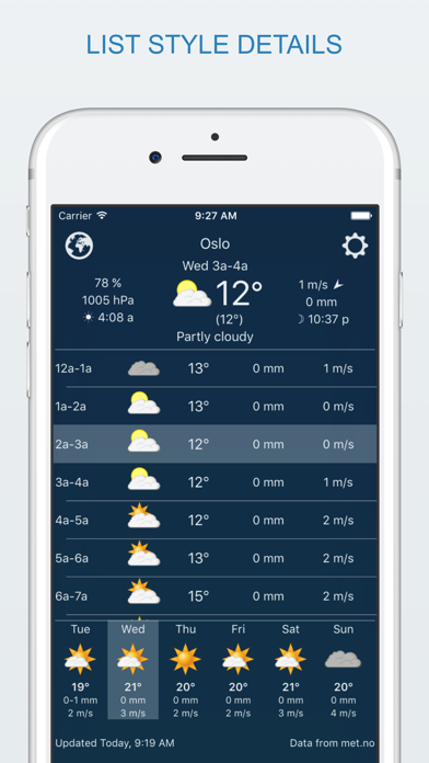 widget weather liteのおすすめ画像3