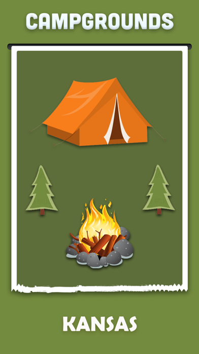 Kansas Campgrounds Offline screenshot one