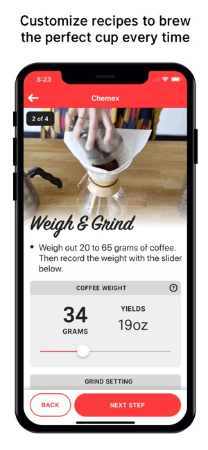 Single Origin - Coffee Timer Screenshot