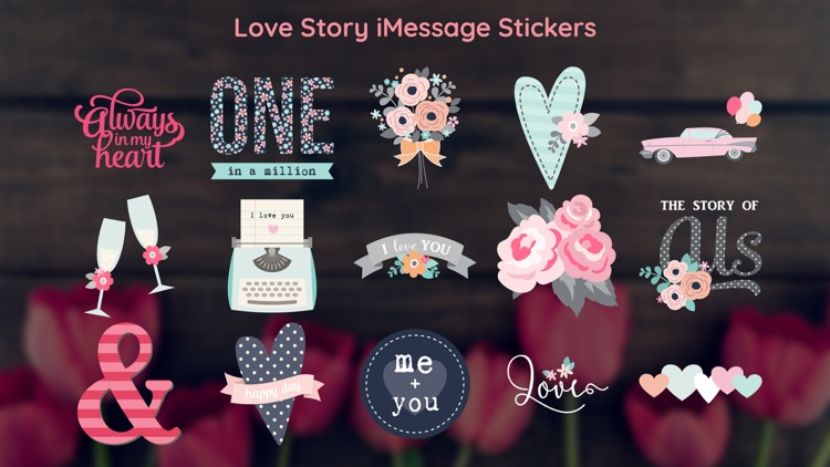 Kiss Day Sticker with Love SMS