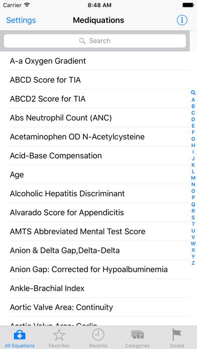 Mediquations screenshot one