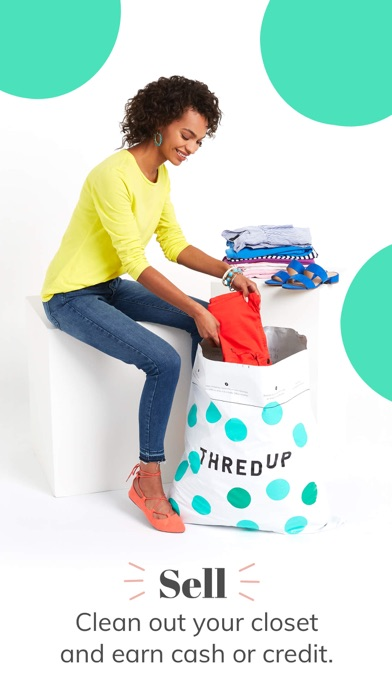 Screenshot for thredUP | Buy & Sell Clothing in United States App Store