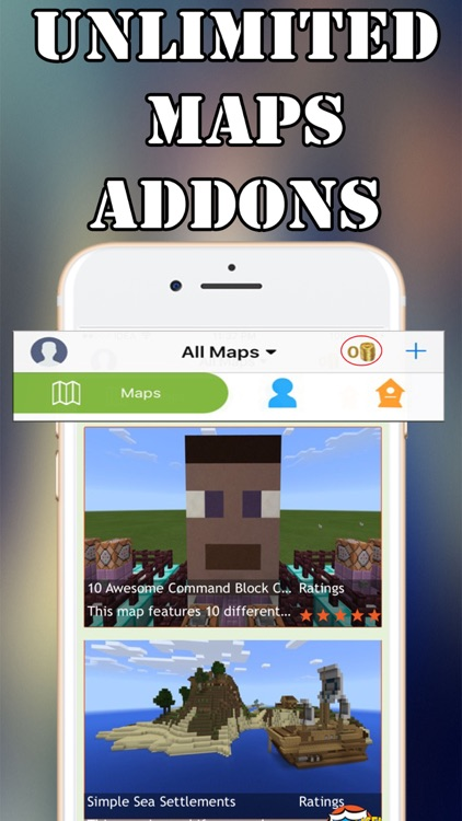 MCPE Addons,Maps for Minecraft