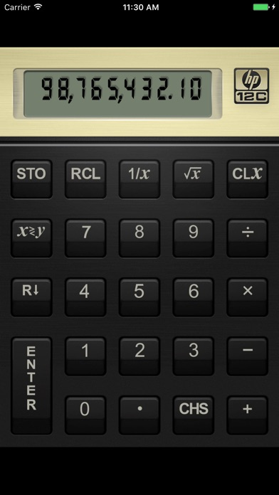 Screenshot for HP 12C Financial Calculator in Belgium App Store