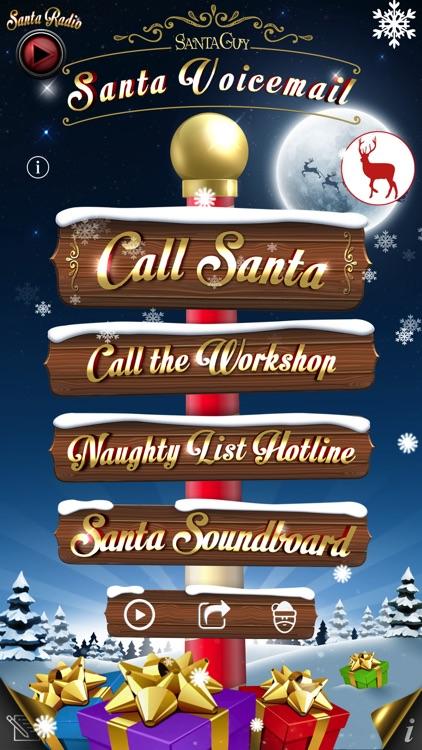 Santa Voicemail screenshot-0