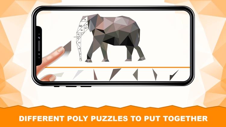 Animal Polygon Art LoPoly Work screenshot-4