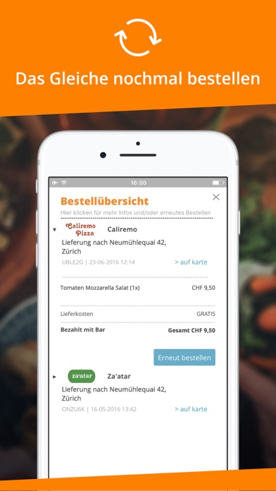 Foodarena.ch for Windows
