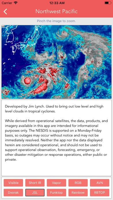 Typhoon Tracker (台風 태풍 台风) screenshot 10